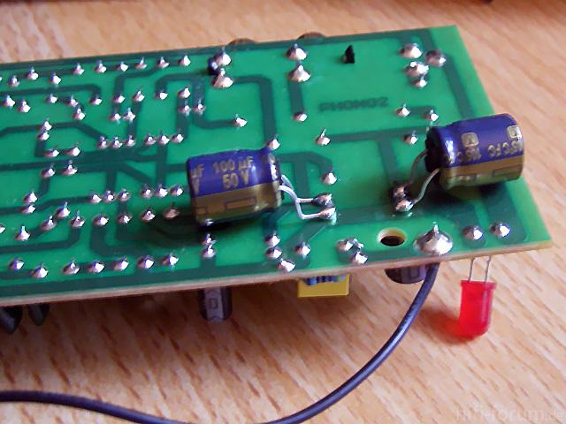 Kondensatoren Auf TC-750-Platine