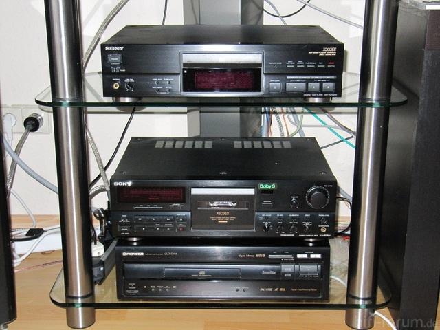 CDP-X 202ES Und TC-K 909ES