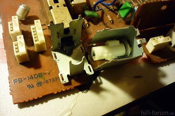 L410 Source Schalter zerlegt