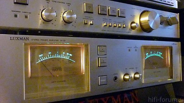 VU-Meter Luxman M-02
