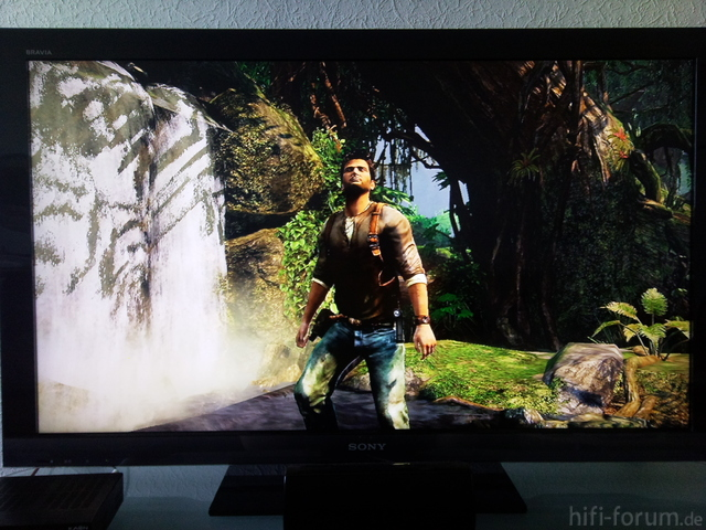 Uncharted Auf Dem Sony KDL 46 EX 402