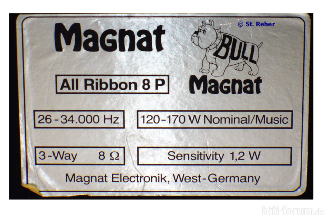 Magnat All Ribbon 8P