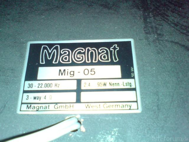 Magnat MIG 5 DATEN