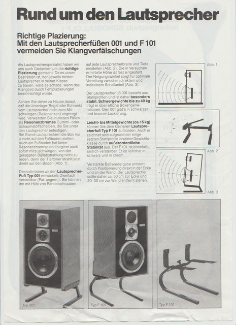 Magnat Typ001 Lautsprecherständer