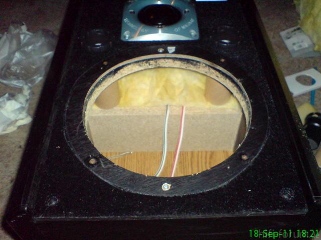 MSP 100 Bass Einpassen