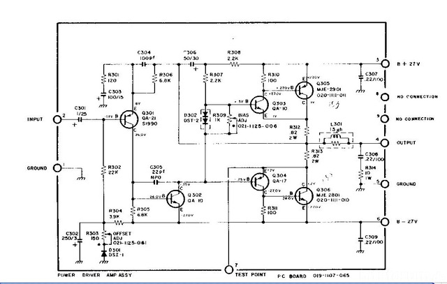 Power Amp Driver Scott 342-C