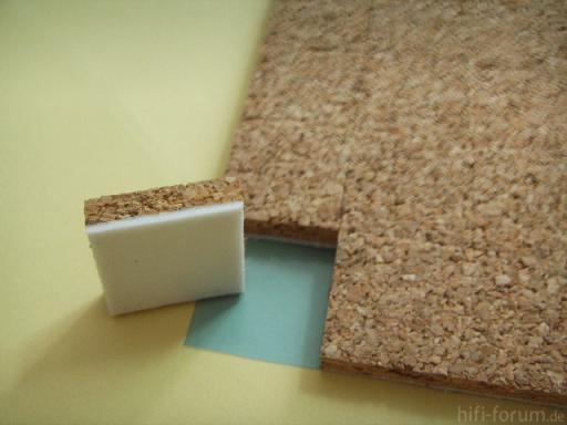 Cork Spacer For Protecting Glass Breakage During Shipment
