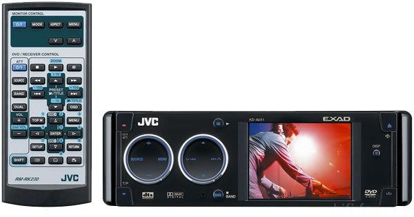 JVC KD AVX1