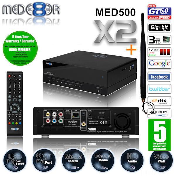 Mede8er 600v2 No Pe
