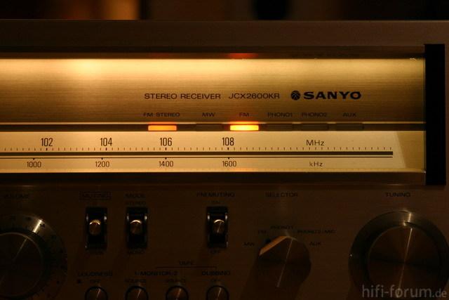 Sanyo JCX 2600 004 Klein