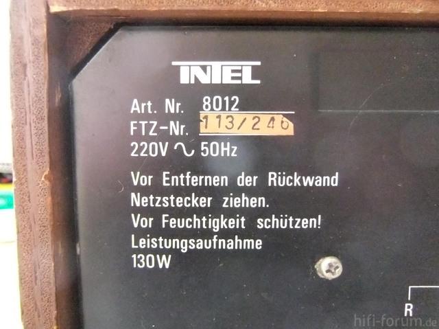 Intel 8012 R