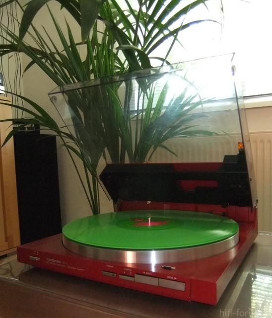 Technics SL-3 Rot/grün