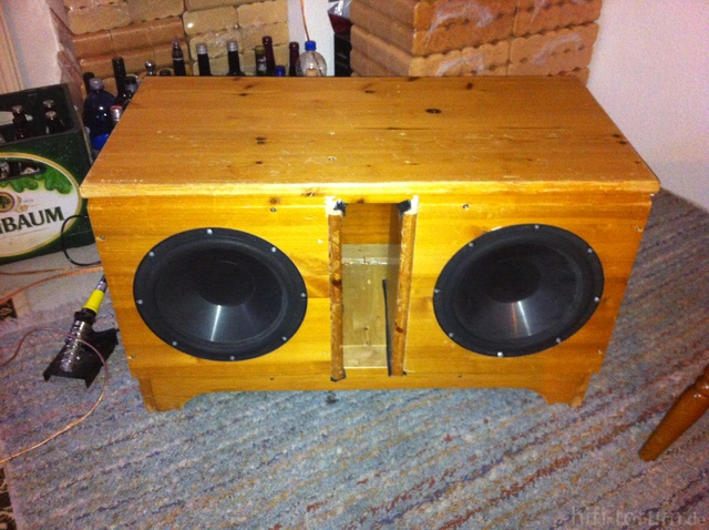 Selbstbau Subwoofer