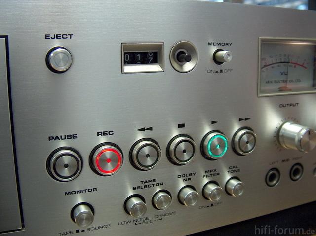 Akai GXC 760D Tasten