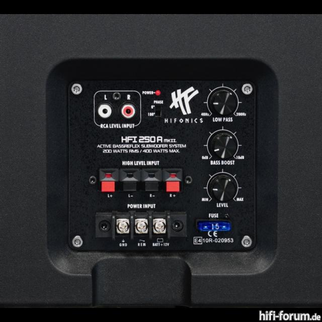 Hifonics HFI 250 A MK II Industria B3