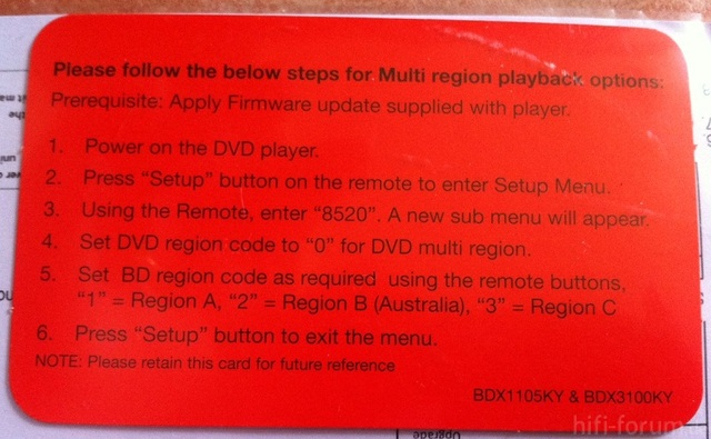Region Selection Instructions