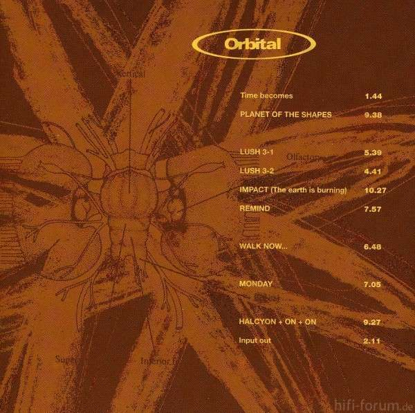 Orbital 2 Brown Album