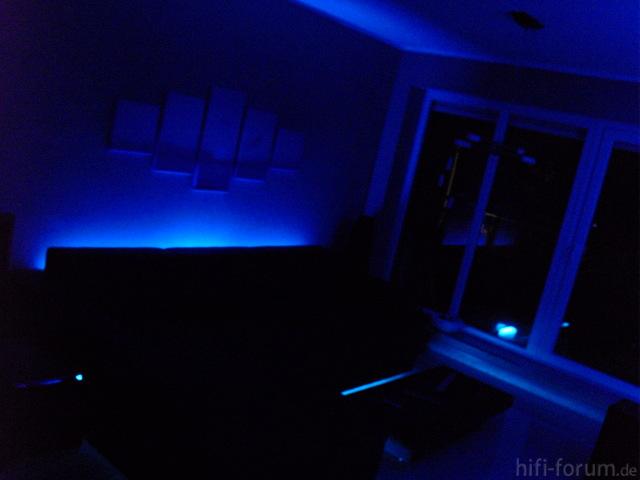 Blaue 3D Lagune