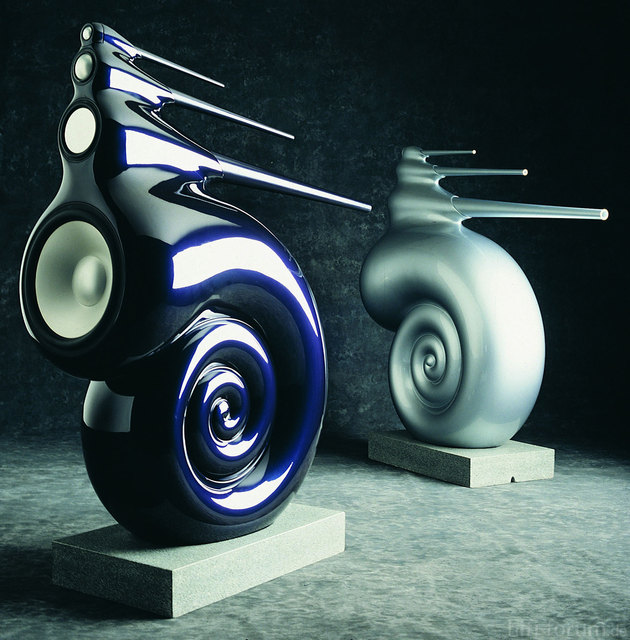 Bowers Wilkins Nautilus Speakers 1
