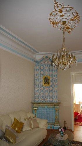 Wohnzimmer, Deckenhöhe 3,5m