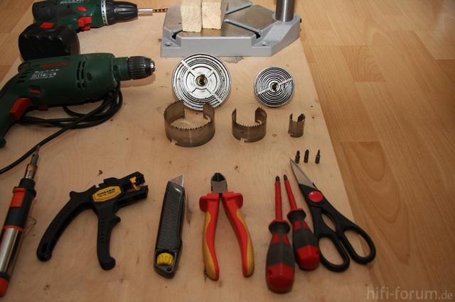 Umbau Teufel Motiv 6: Werkzeugdetails