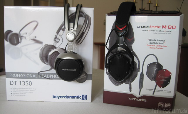 Beyerdynamic DT 1350 Vs. V-Moda Crossfade M-80