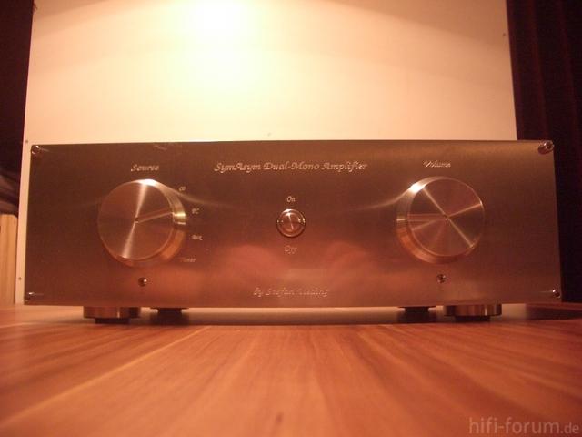 SymAsym Dual-Mono Amplifier - Front