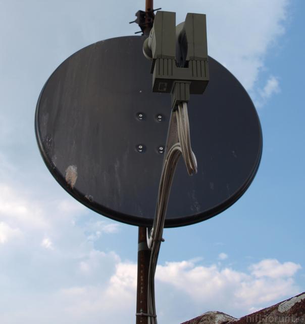Schüssel Auf Dem Dach