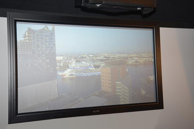 13 - Kauber Contrast S - Tageslicht aus Projektionsrichtung - Foto Michael B. Rehders