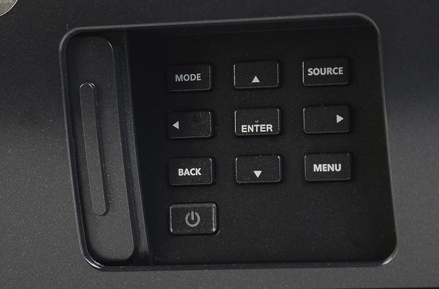 Acer V9800 - Bedienelement - Foto Michael B. Rehders