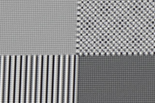 BenQ W11000 - 4K-Schachbrettmuster oben links
