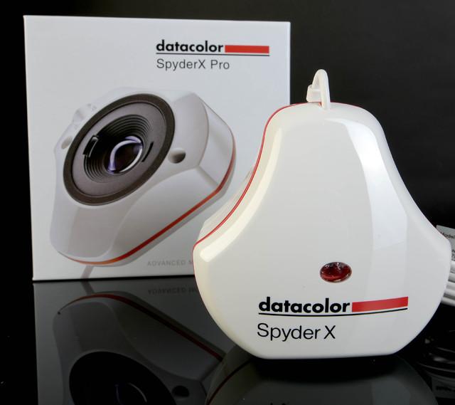 Datacolor Spyder X - mit Verpackung -  Foto Michael B. Rehders