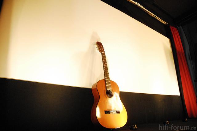 Gitarre Auf Der Bühne MBR1754