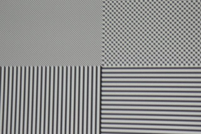 Optoma HD27 - Screenshot Pixelauflösung