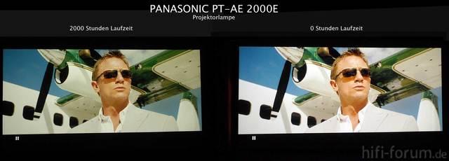 Projektorlampe Neu Vs. 2000 Std.