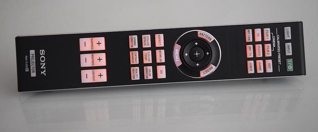 Sony VPL-HW65 - Fernbedienung beleuchtet_MBR6510