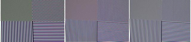 Sony VPL-HW65 - Full-HD-Pixelauflösung - Werkseinstellung, Panelabgleich ein, kalibriert - von links
