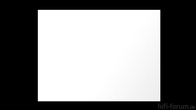 Weißbild Lichtverlust Zum Rand 90 IRE