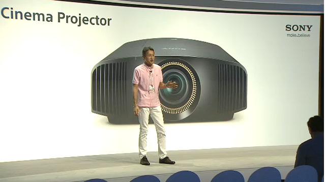 Zitat - Sony Generalprobe der Pressekonferenz