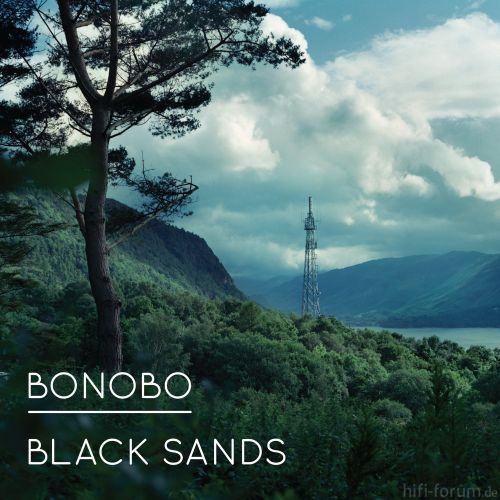Bonobo Black Sands Cover