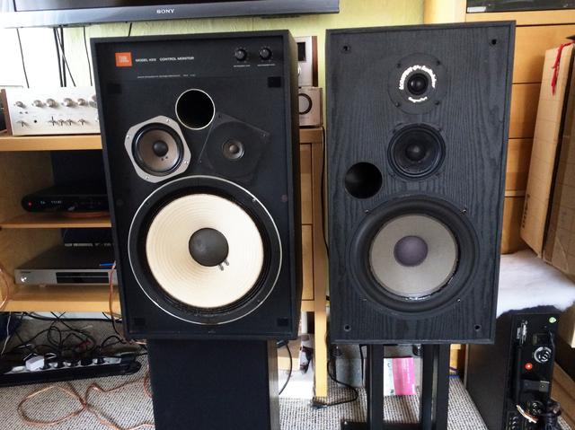 JBL 4312 vs Ecouton-Audiolabor MRL 120+