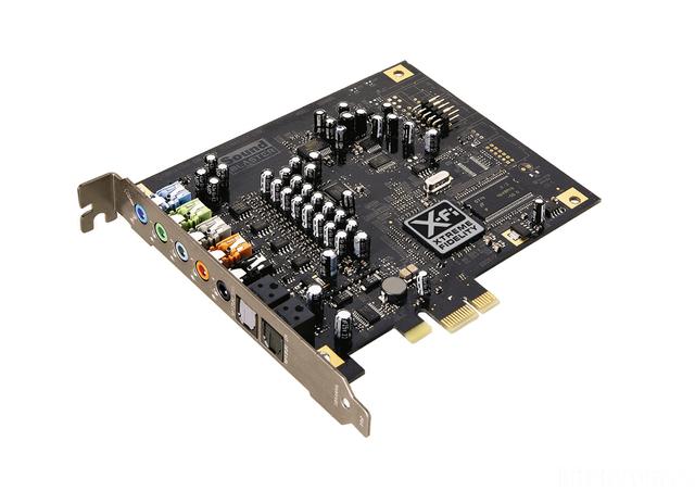 Sb Xfi Titanium Card