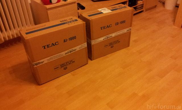 Teac AI 1000 + Teac CD 1000