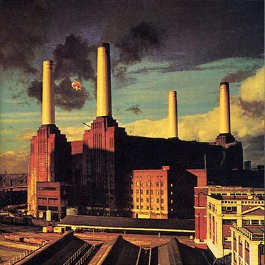 Pink Floyd Animals Cover Art