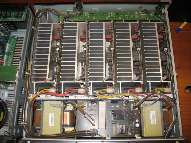 Sherwood AM9080 Endstufe + P965 Vorstufe