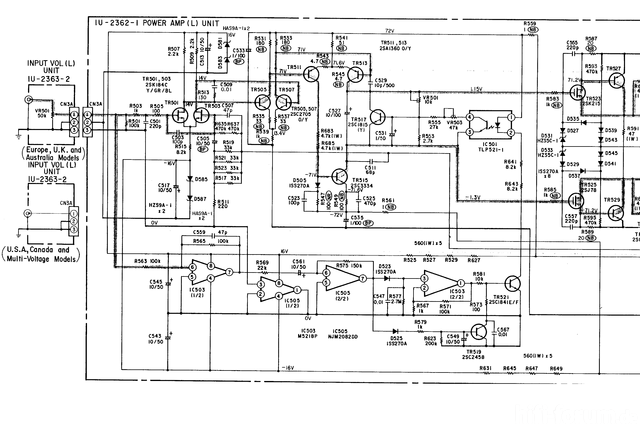 Schaltplan Denon POA 2800 1