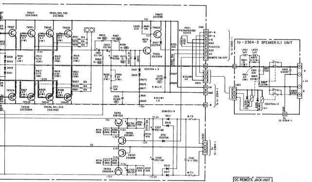 Schaltplan Denon POA 2800 2