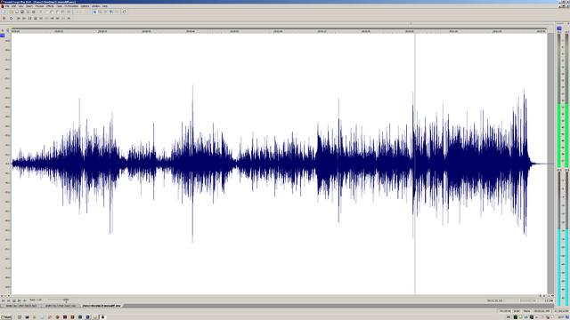 Differenzsignal einer MP3 Codierung