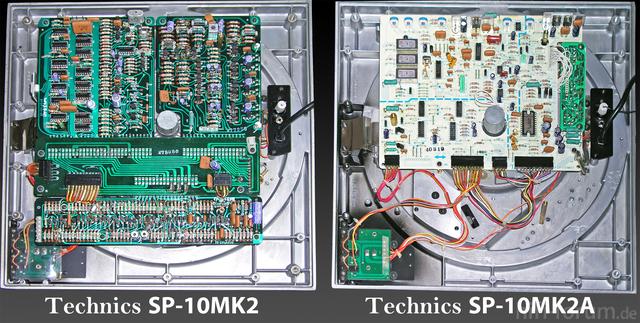 Technics SP-10MK2 Vs Technics SP-10MK2A