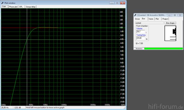 Simulation  3db